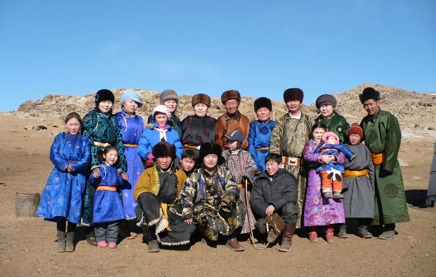 Our Mongolian Partners Who Help Us Build GroovyYurts Yurts