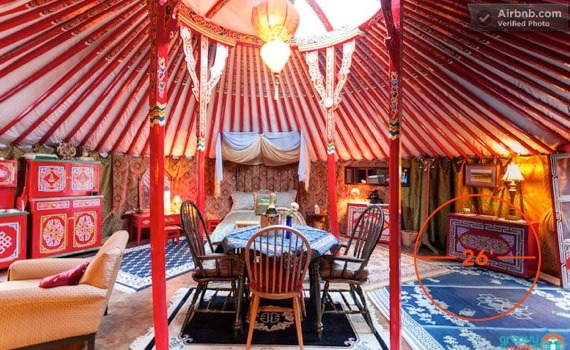 26 foot diameter yurt for living Groovy Yurts
