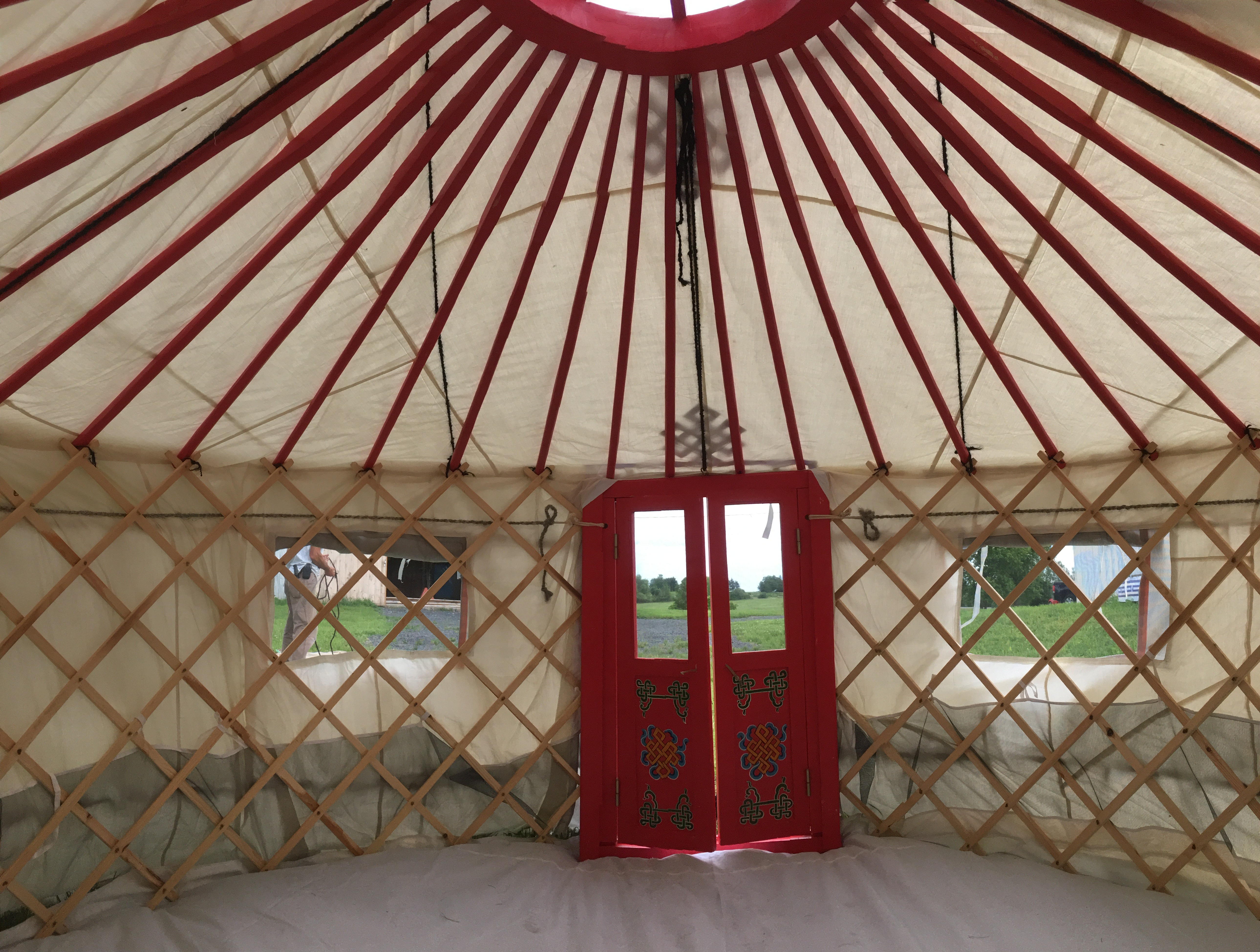 large yurt by Groovy Yurts
