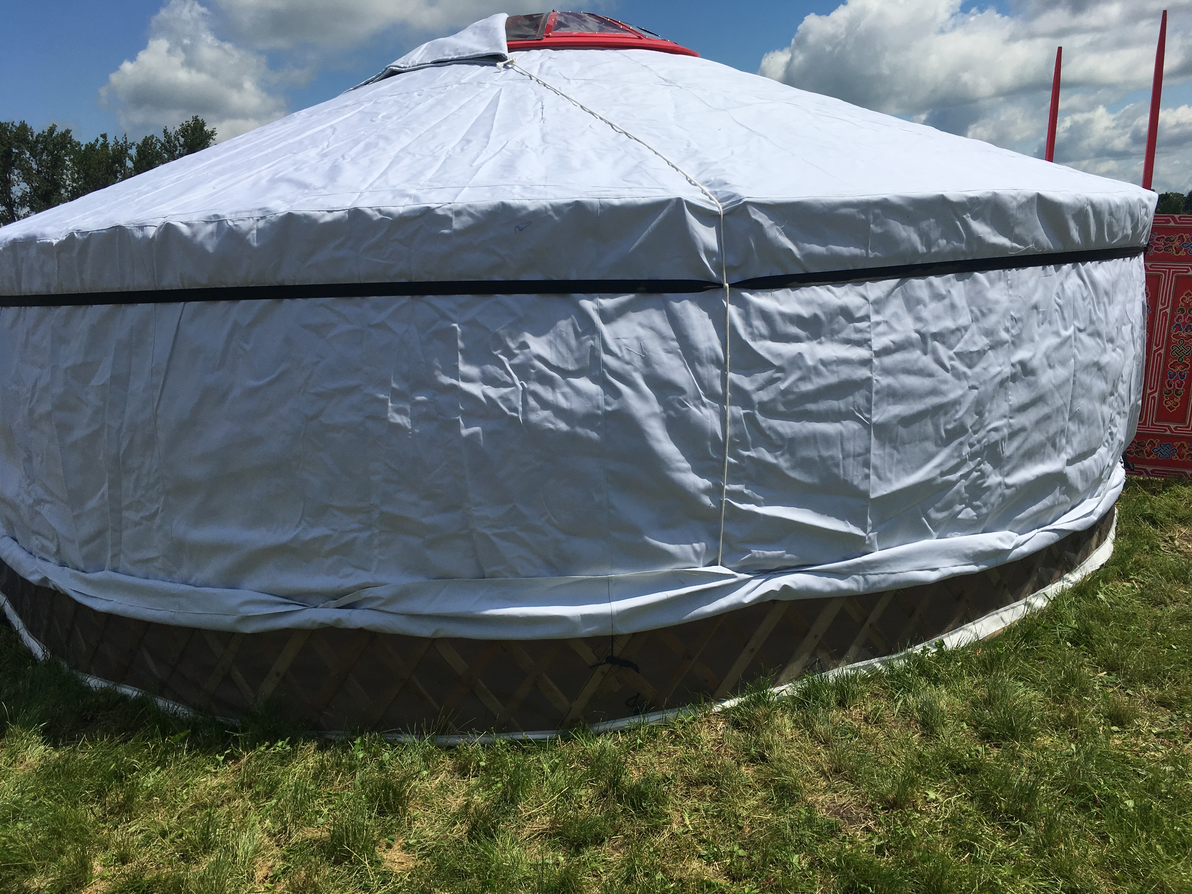 Large Outdoor Yurt