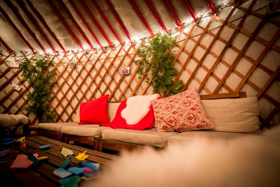 private event in groovy yurt