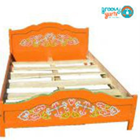 European style bed frame for sale Groovy Yurts