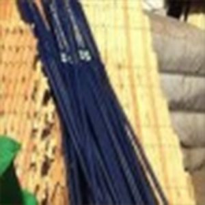 Handmade blue hun roof rafter for groovy yurts