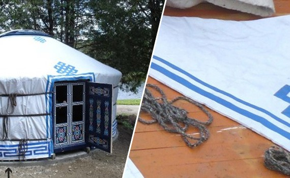 Inside and outside layer yurt accessories for sale