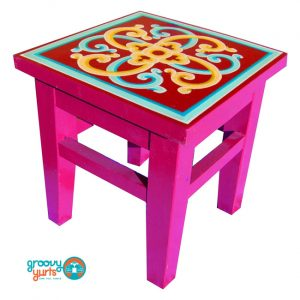 small GroovyYurts table