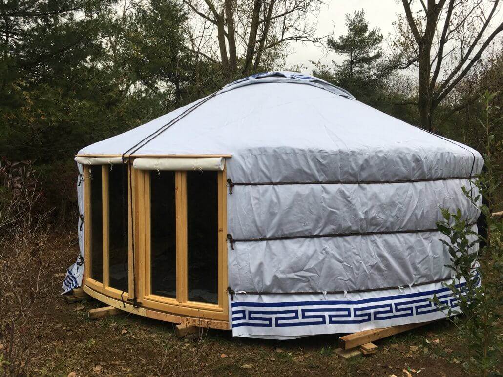 outdoor yurt