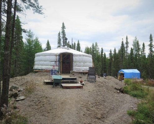 groovy yurts customers living off grid in yurts