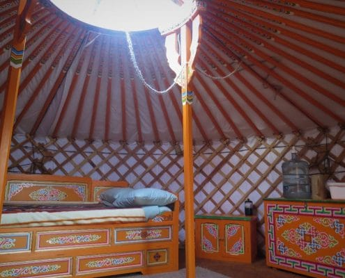 yurt from groovy yurts