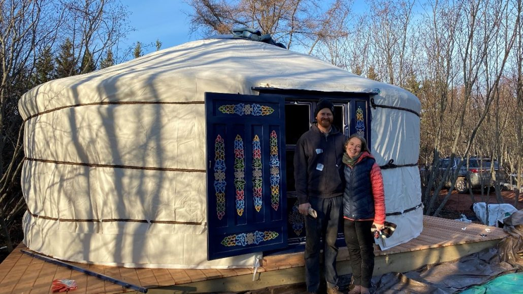 Groovy Yurts Canada Maritimes Tour 2020