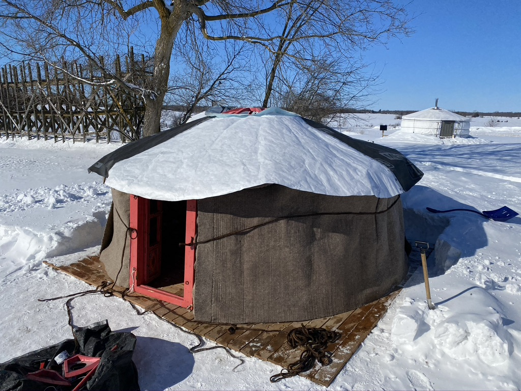 yurt withstands low and high humidity levels
