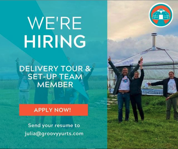 We're Hiring A Delivery Tour & Set-Up Team Member